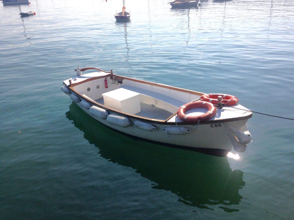 10 person boat, Mylor boat hire Falmouth